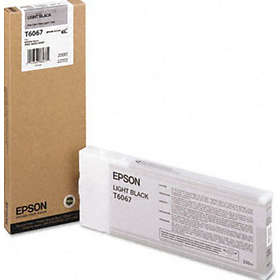 Epson T6067 (Ljussvart)