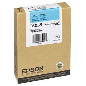 Epson T6055 (Ljuscyan)