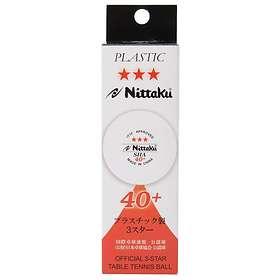 Nittaku SHA 40+ 3-Star (3 bollar)