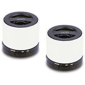 Jämför priser på UGO BT Wireless Mini Speaker Duo Mobilhögtalare ... bf1a043502e93
