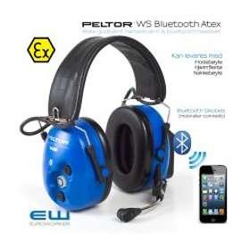 3M Peltor WS Bluetooth Atex Headband