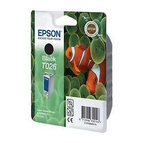 Epson T026 (Svart)