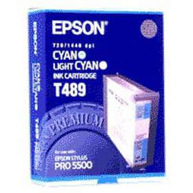 Epson T489 (Cyan/Ljuscyan)
