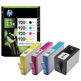 HP 920XL (Nero/Cyan/Magenta/Giallo)