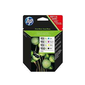 HP 950XL (Black) + 951XL (Cyan/Magenta/Yellow)