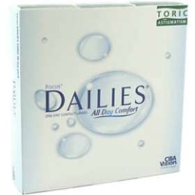 Alcon Focus Dailies Toric (90-pack)
