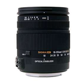 Sigma 18-125/3,8-5,6 DC OS HSM for Sigma