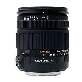 Sigma 18-125/3,8-5,6 DC OS HSM for Nikon