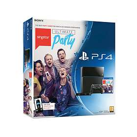 Sony PlayStation 4 500GB (incl. Camera + SingStar: Ultimate Party)