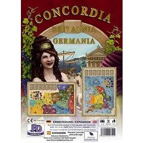 Rio Grande Games Concordia: Britannia & Germania