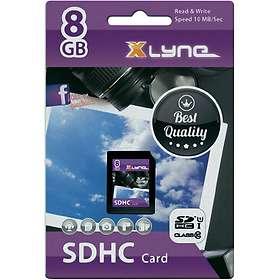 Xlyne SDHC Class 10 UHS-I U1 8GB