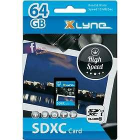 Xlyne SDXC Class 10 UHS-I U1 64GB