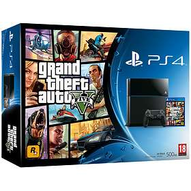 Sony PlayStation 4 500GB (incl. Grand Theft Auto V)