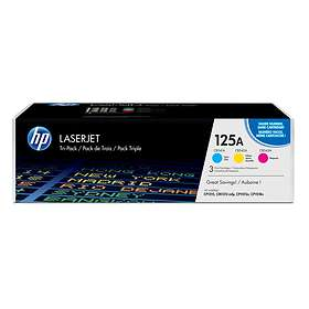 HP 125A (Cyan/Magenta/Gul)