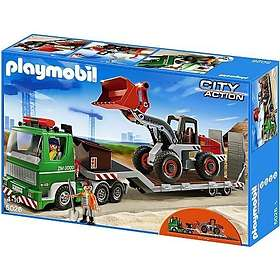 Playmobil City Action 5026 Low Loader with Wheel