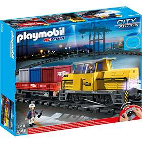 Playmobil City Action 5258 train porte-conteneurs radio-commandé