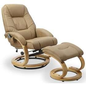 Skånska Möbelhuset Lanzer Massagefåtölj + Fotpall