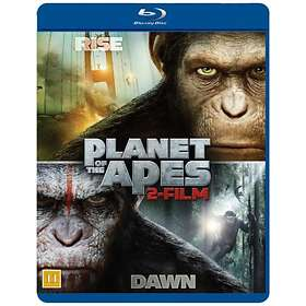 Rise of the Planet of the Apes + Dawn of the Planet of the Apes