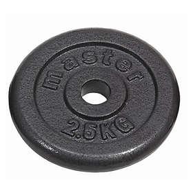 Master Fitness Skolvikter 25mm 2x2,5kg