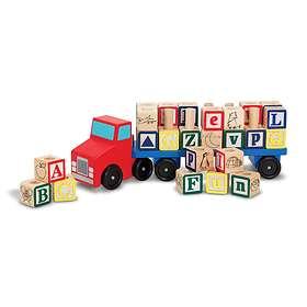 Melissa & Doug Alphabet Blocks Truck 5175