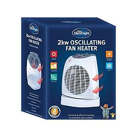 Silent Night Oscillating Fan Heater