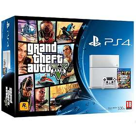 Sony PlayStation 4 500GB (incl. Grand Theft Auto V) - White Edition
