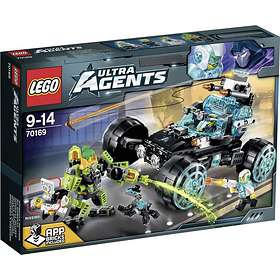 LEGO Ultra Agents 70169 4x4 Agent Patrol