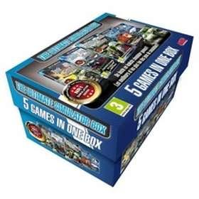 The Ultimate Simulator Box - 5 Simulator Games in 1 Box