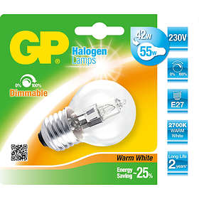 GP Lighting Halogen ECO Series Globe 700lm E27 46W