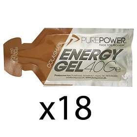 Pure Power Energy Gel 40g 18st
