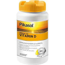 Pikasol Omega-3 & Vitamin D 120 Kapslar