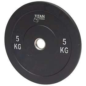 Titan Fitness Bumper Plate 5kg