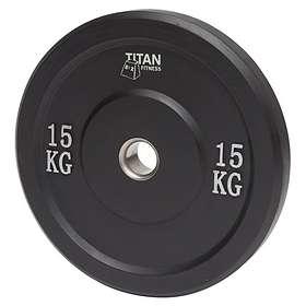 Titan Fitness Bumper Plate 15kg