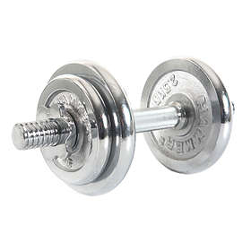 Finnlo Chrome Dumbbell Set 10kg