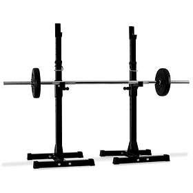 Klarfit Weight Lift Squat Rack Curl Bar Stand Holder