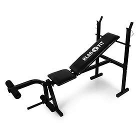 Klarfit FIT-HB4 Weight Training Bench Press with Leg Curl 160kg