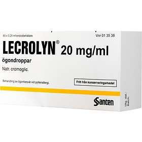 Santen Lecrolyn Ögondroppar 20mg/ml 5ml
