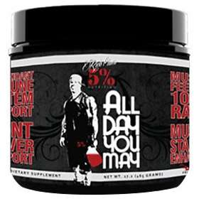 Rich Piana 5% Nutrition All Day You May 0,46kg