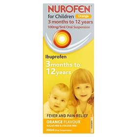 Reckitt Benckiser Nurofen for Children Pain and Fever Relief Flytende 100ml