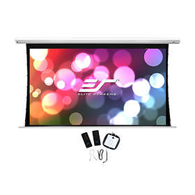 "Elite Screens Saker Tab Tension Black Top-6 MaxWhite FG 16:9 135"" (299x168)"