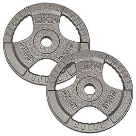 DKN Technology Tri Grip Cast Iron Olympic Weight Plates 2x20kg  sc 1 st  PriceSpy & Find the best price on Hype Olympic Weight Set with 6ft Bar and ...