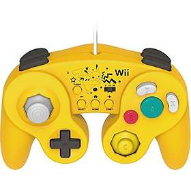 Hori Super Mario Battle Pad - Pikachu Edition (Wii U)