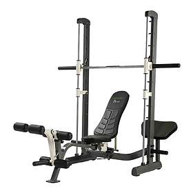 Tunturi Pure Compact Smith Machine Weight Bench with Folding Design
