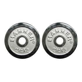 Hammer Sport Chrome Weight Plates 2x2,5kg