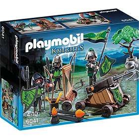 Playmobil Knights 6041 Wolf Knights With Catapult