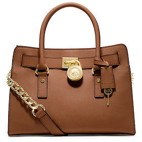 c309333677ed Find the best price on Michael Kors Hamilton Saffiano Leather Medium ...