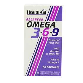 HealthAid Vegan Omega 3-6-9 60 Capsules