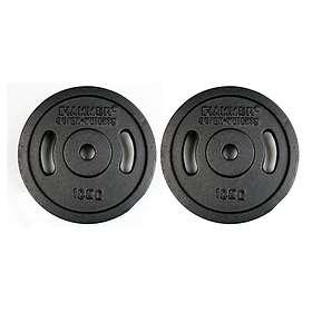 Hammer Sport Iron Weight Plates 2x10kg