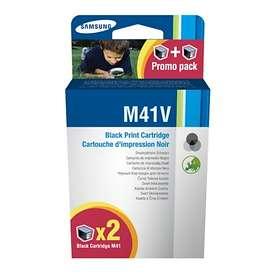 Samsung M41V (Svart) 2-pack