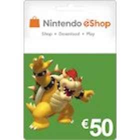 Nintendo eShop Card - 50 EUR